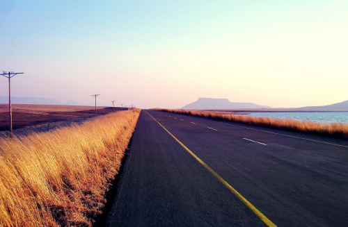 Blog Image - Long country road
