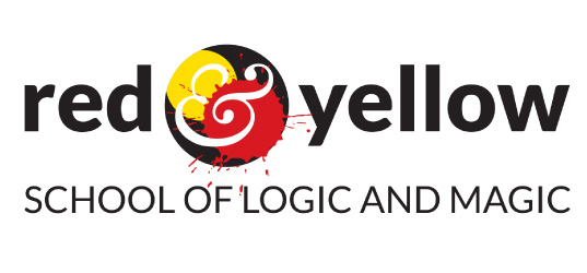 Red and Yellow Logo